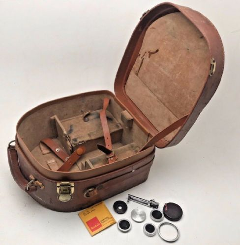 Bolex Paillard original 16mm camera case